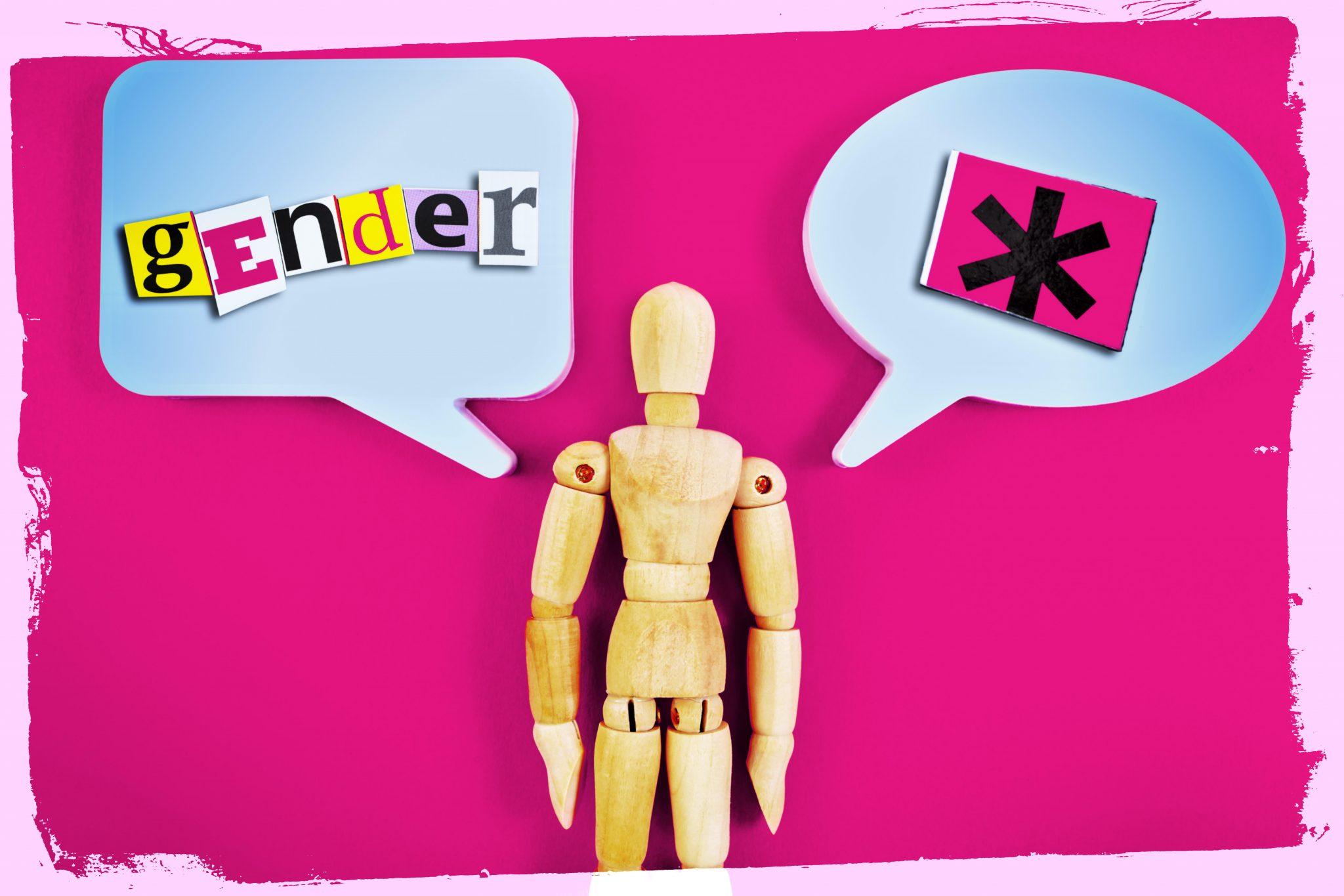 Die sogenannte geschlechtergerechte Sprache soll auch in der Evangelischen Kirche gelten (Symbolbild) Foto: picture alliance/chromorange