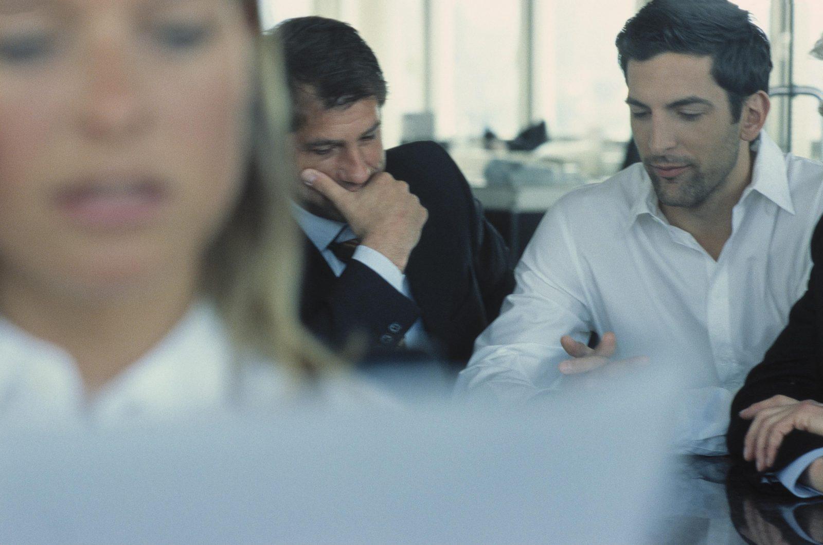 Büro: Vorsichtig sein, um Ärger mit dem Chef zu vermeiden Foto: picture alliance/VisualEyze