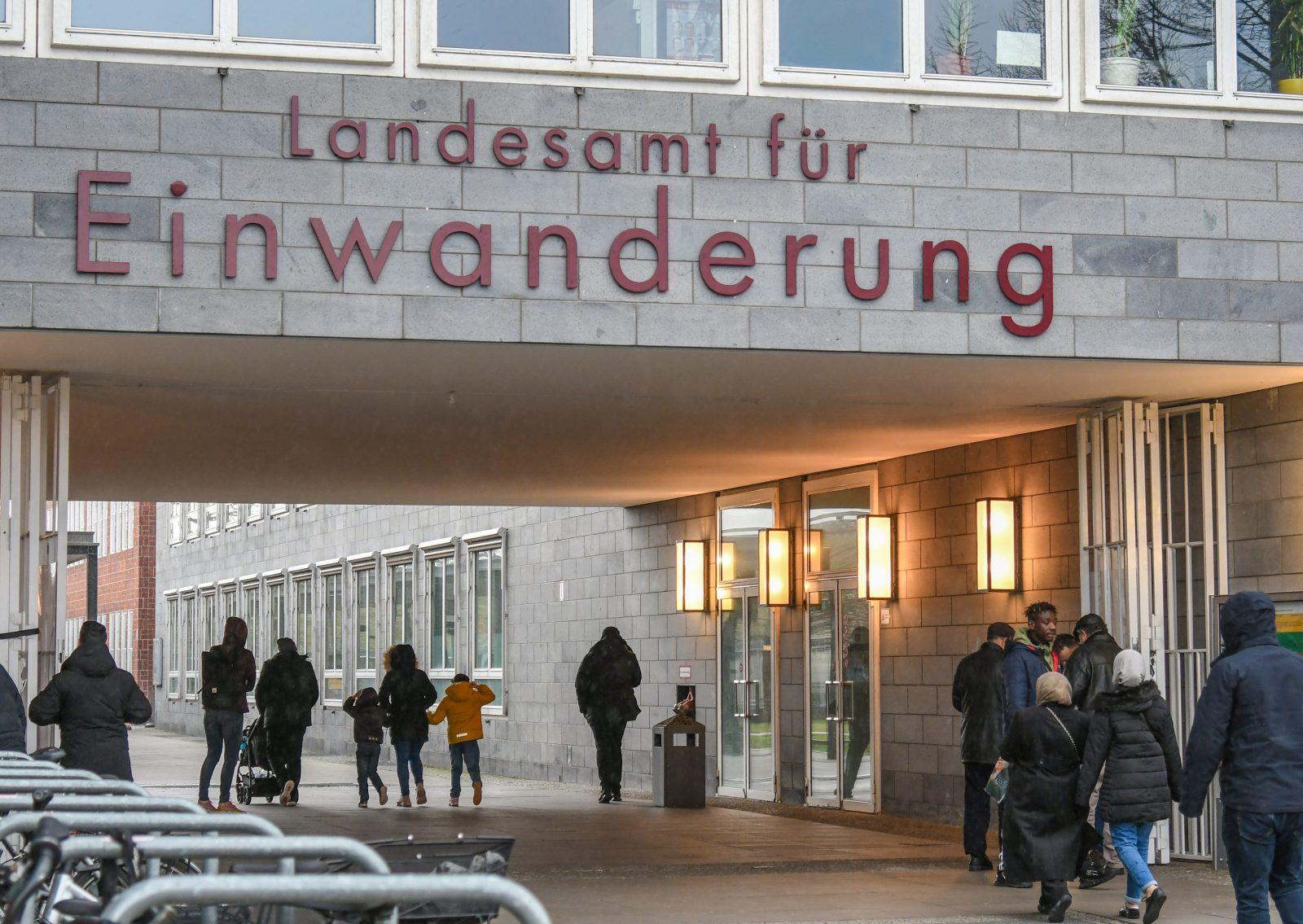 Das Berliner Landesamt für Einwanderung: Der Zuzug hält an Foto: picture alliance