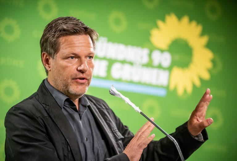 Grünen-Chef Robert Habeck Foto: picture alliance/Michael Kappeler/dpa