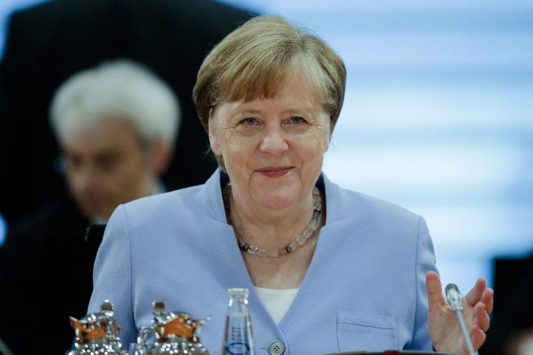 Bundeskanzlerin Angela Merkel (CDU) will entschlossen gegen Rassismus vorgehen Foto: picture alliance / AP Photo