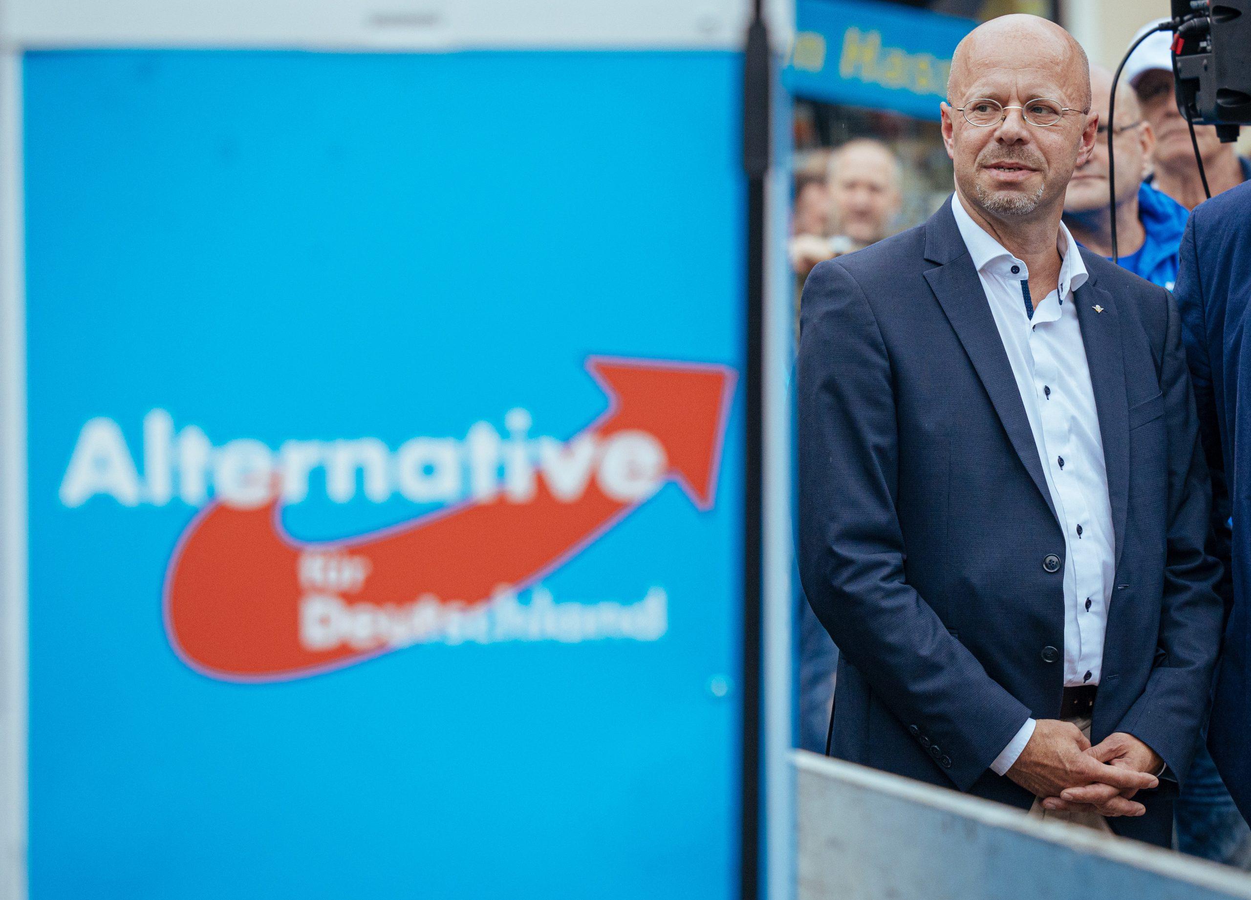 Die Auseinandersetzung um den Brandenburger AfD-Fraktionsvorsitzenden Andreas Kalbitz beschäftigt die Partei weiter Foto: picture alliance/Oliver Killig/dpa-Zentralbild/dpa