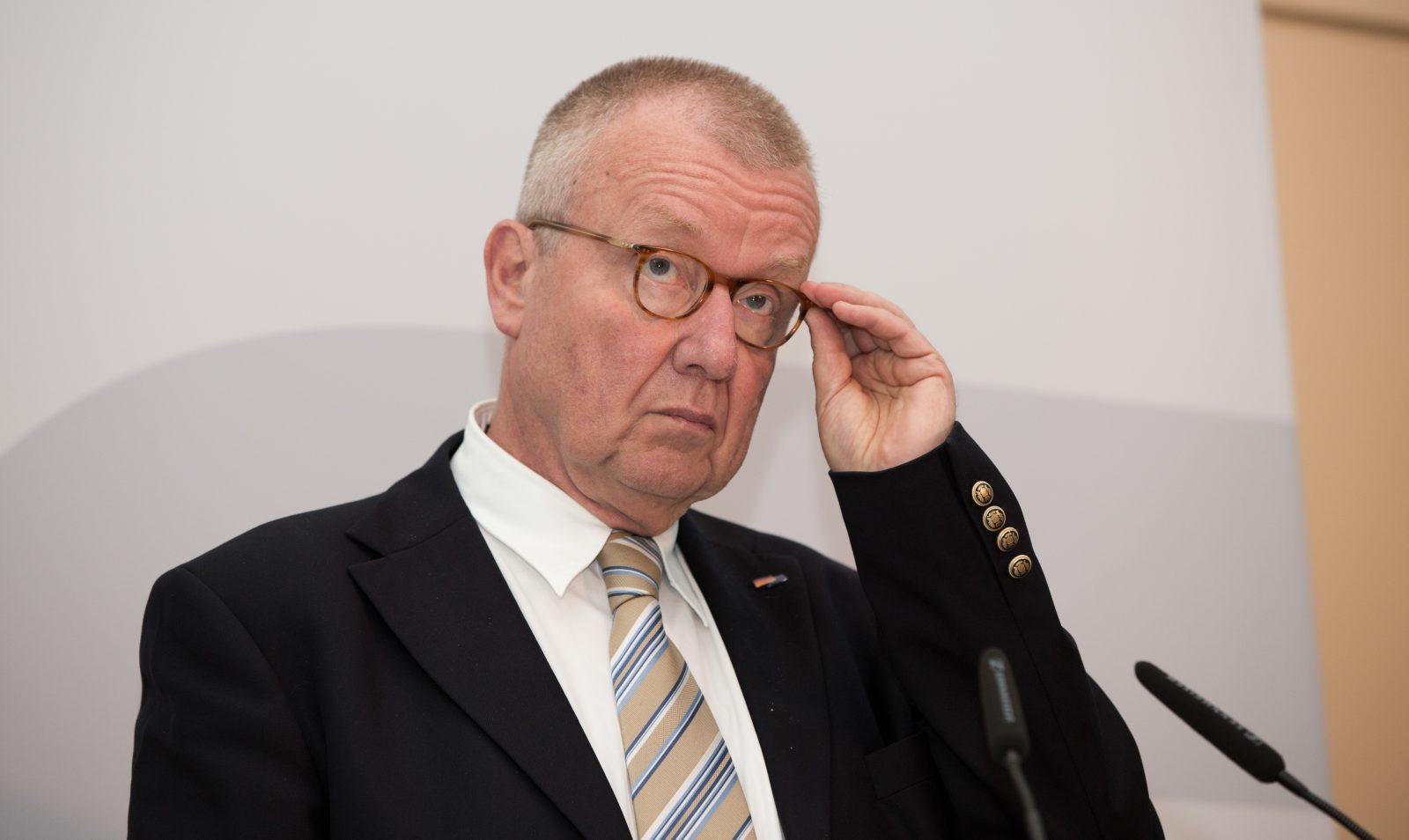 Ex-CDU-Generalsekretär Ruprecht Polenz verhandelt mit den Interessenvertretern der Herero und Nama Foto: (c) dpa