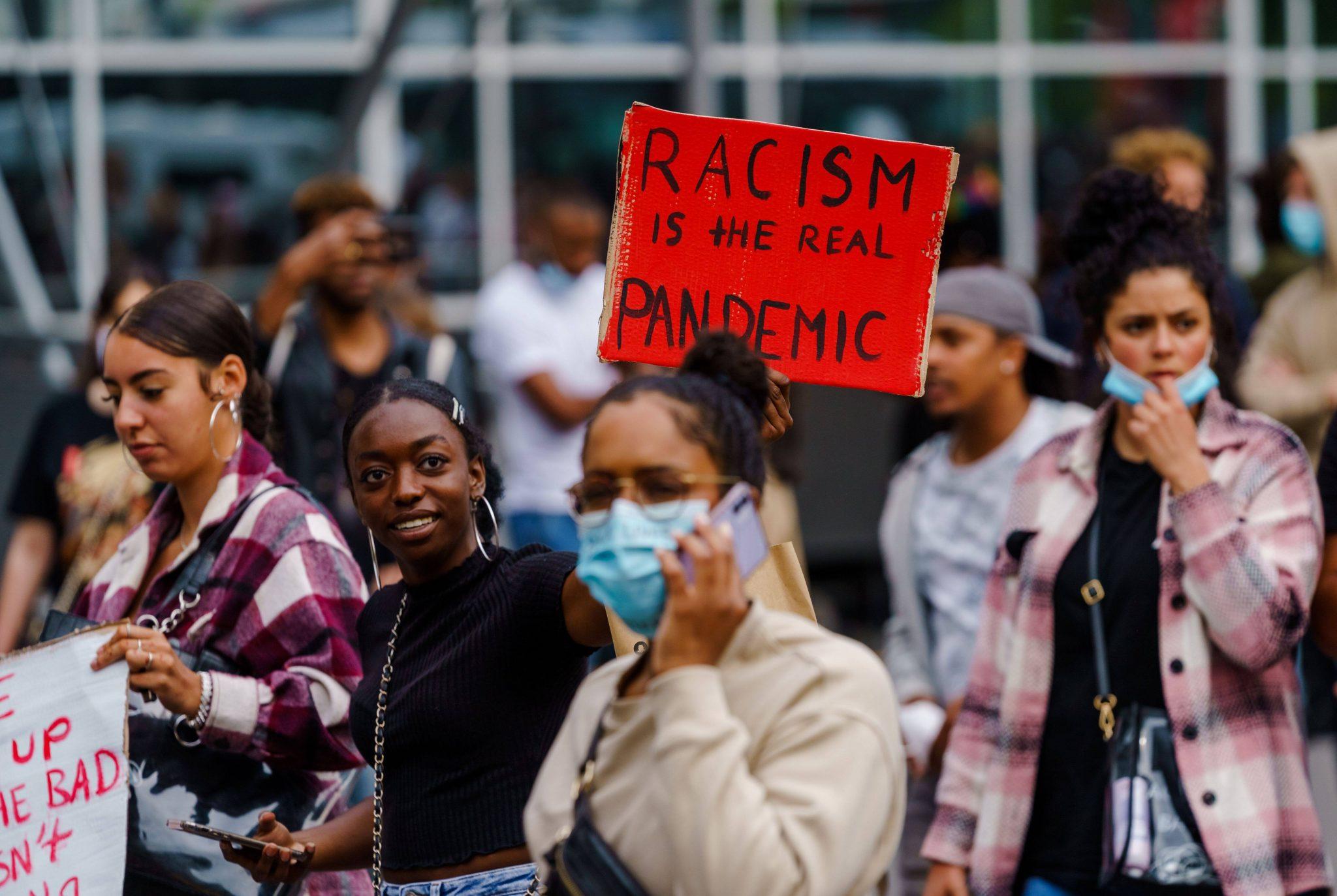 Demonstration gegen Rassismus in Rotterdam Foto: imago images / Hollandse Hoogte