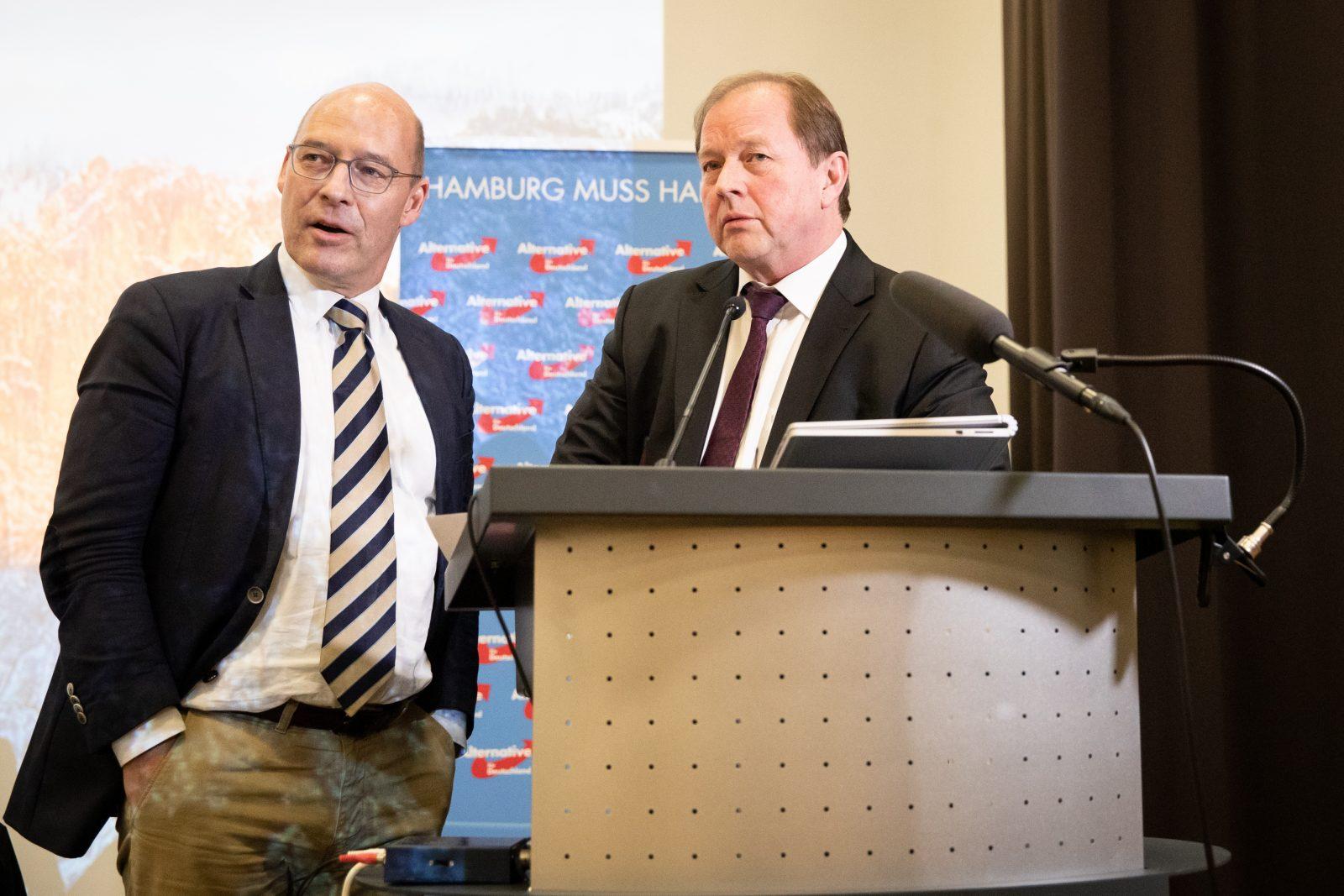 Dirk Nockemann (r.) und Alexander Wolf
