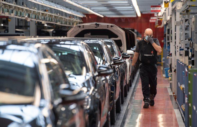 Daimler-Fabrik in Sindelfingen