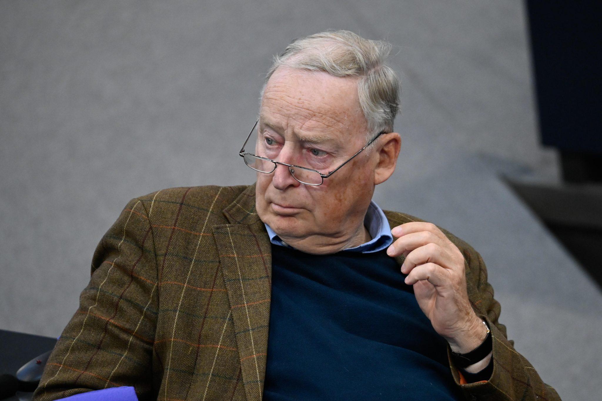 AfD-Ehrenvorsitzender Alexander Gauland