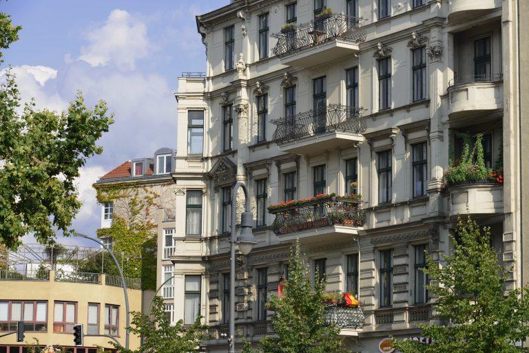 Altbauten in Berlin-Schöneberg