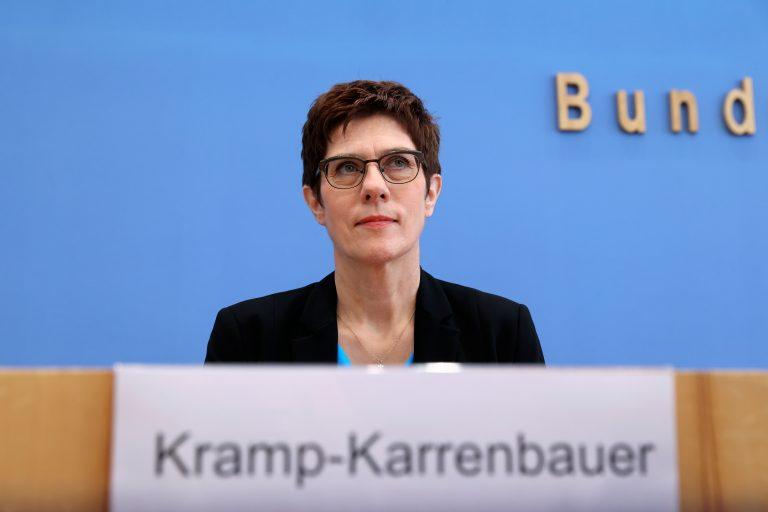 Die CDU-Vorsitzende Annegret Kramp-Karrenbauer will die Frauenquote in ihrer Partei auf 50 Prozent festschreiben Foto: picture alliance/Fabrizio Bensch/Reuters-Pool/dpa