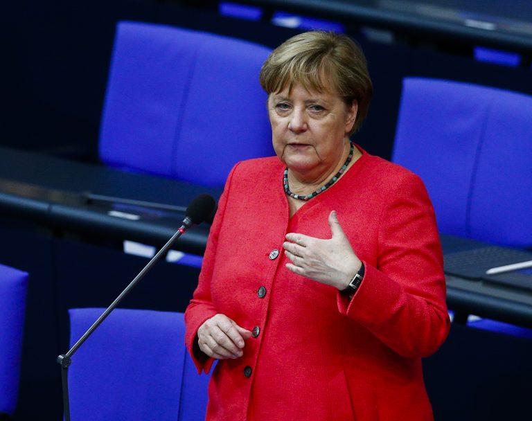 Bundeskanzlerin Angela Merkel (CDU) beantwortet die Fragen der AfD-Fraktion Foto: picture alliance / AA