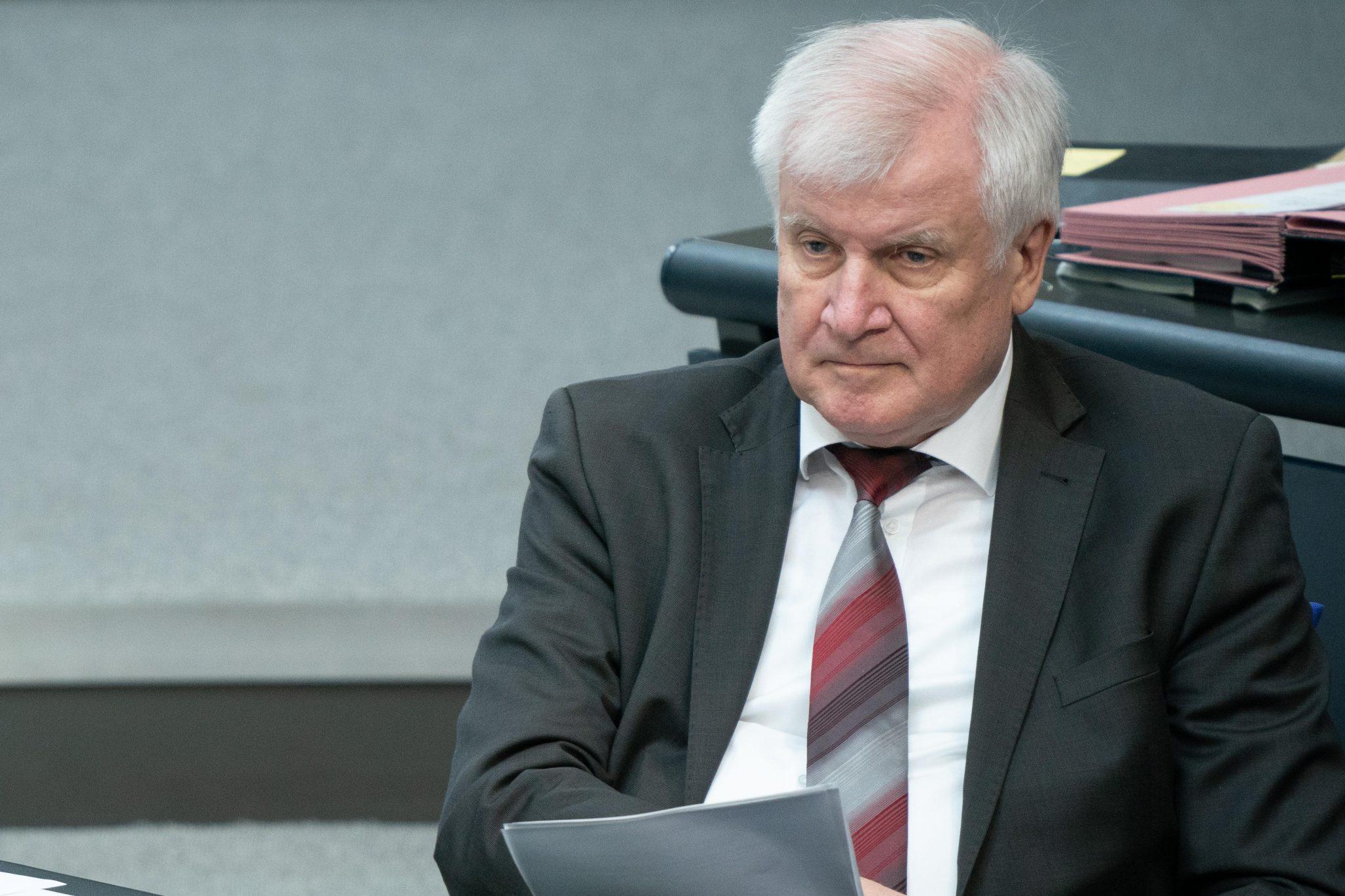 Bundesinnenminister Horst Seehofer (CSU)