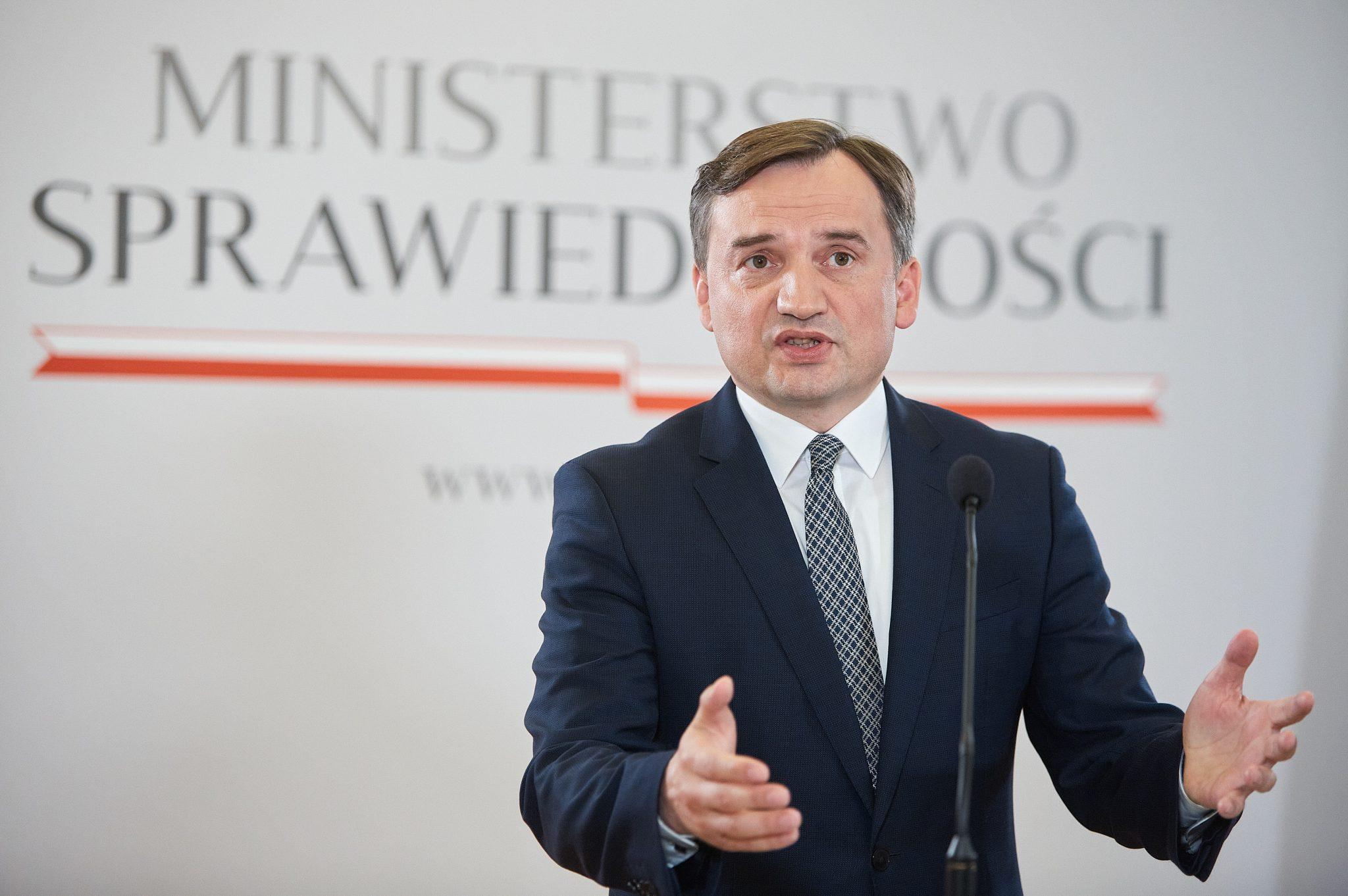 Polens Justizminister Zbigniew Ziobro