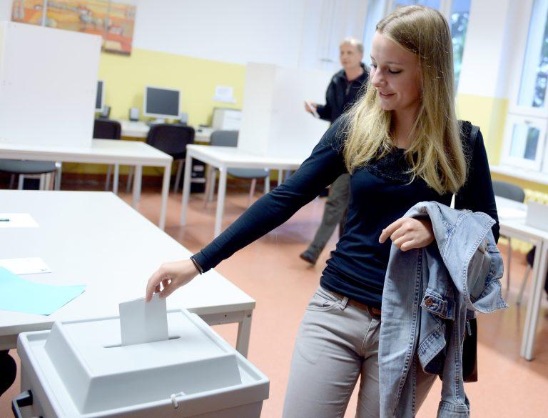 17jährige Erstwählerin in Brandenburg