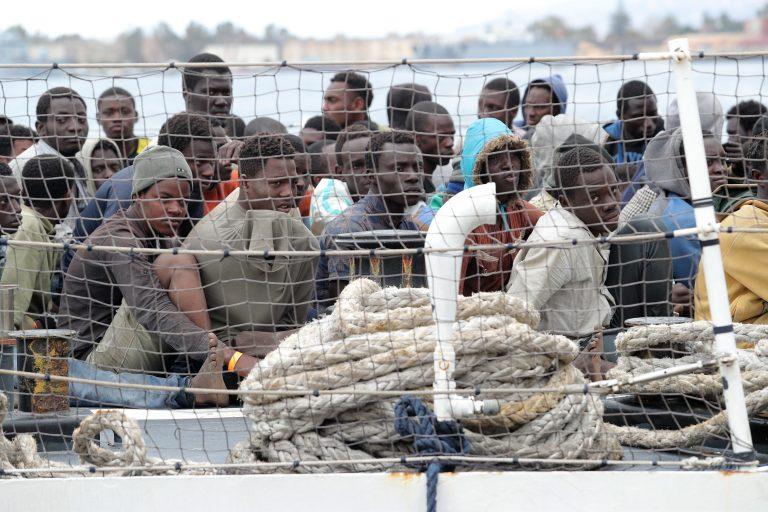 Asylsuchende landen auf Sizilien (Archivbild) Foto: picture alliance / NurPhoto