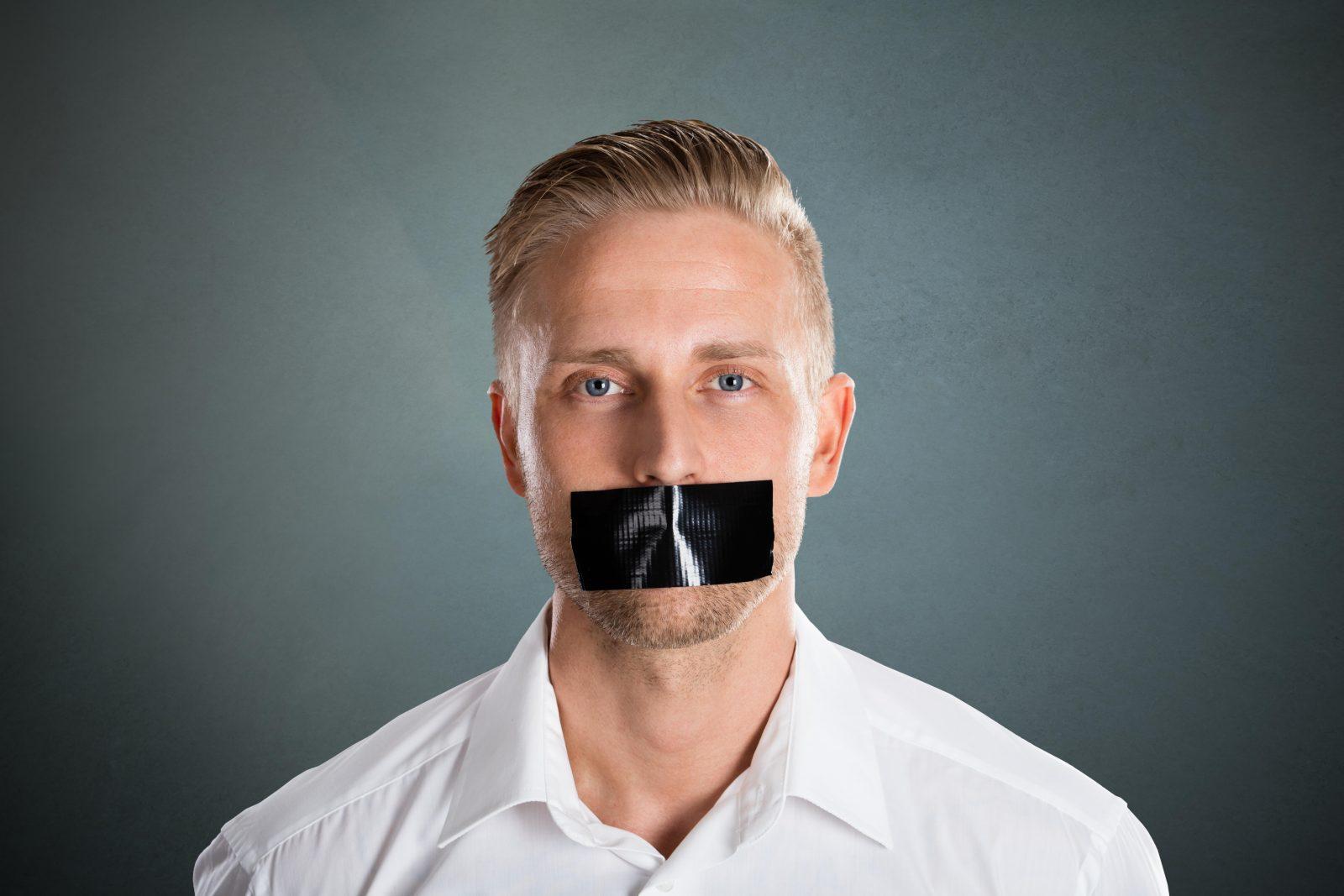 Meinungseinschränkung durch politische Korrektheit Foto: picture alliance / PantherMedia