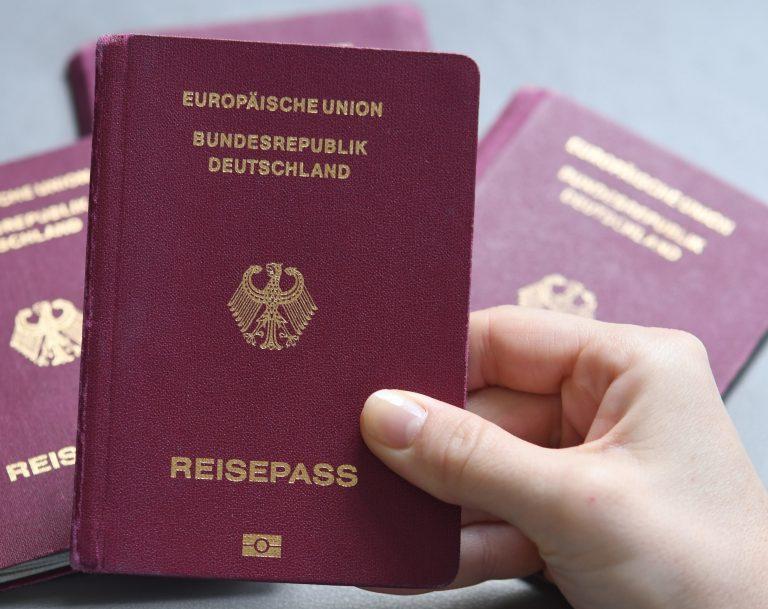Ein deutscher Paß erlaubt die visafreie Einreise in 189 Länder (Symbolbild) Foto: picture alliance