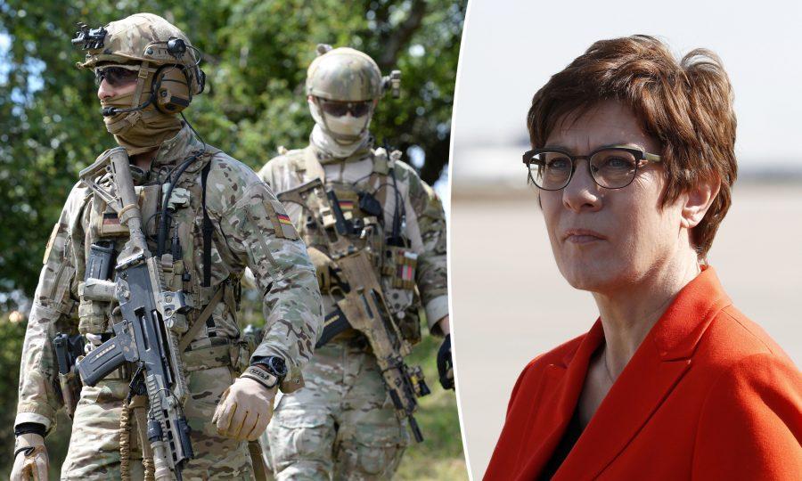 KSK-Soldaten, Verteidigungsministerin Annegret Kramp-Karrenbauer (CDU)