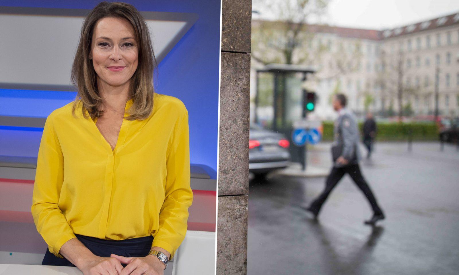 """Panorama""-Moderatorin Anja Reschke, Bundeswehr-Soldat Fotos: picture alliance/dpa / Sven Simon / JF-Montage"