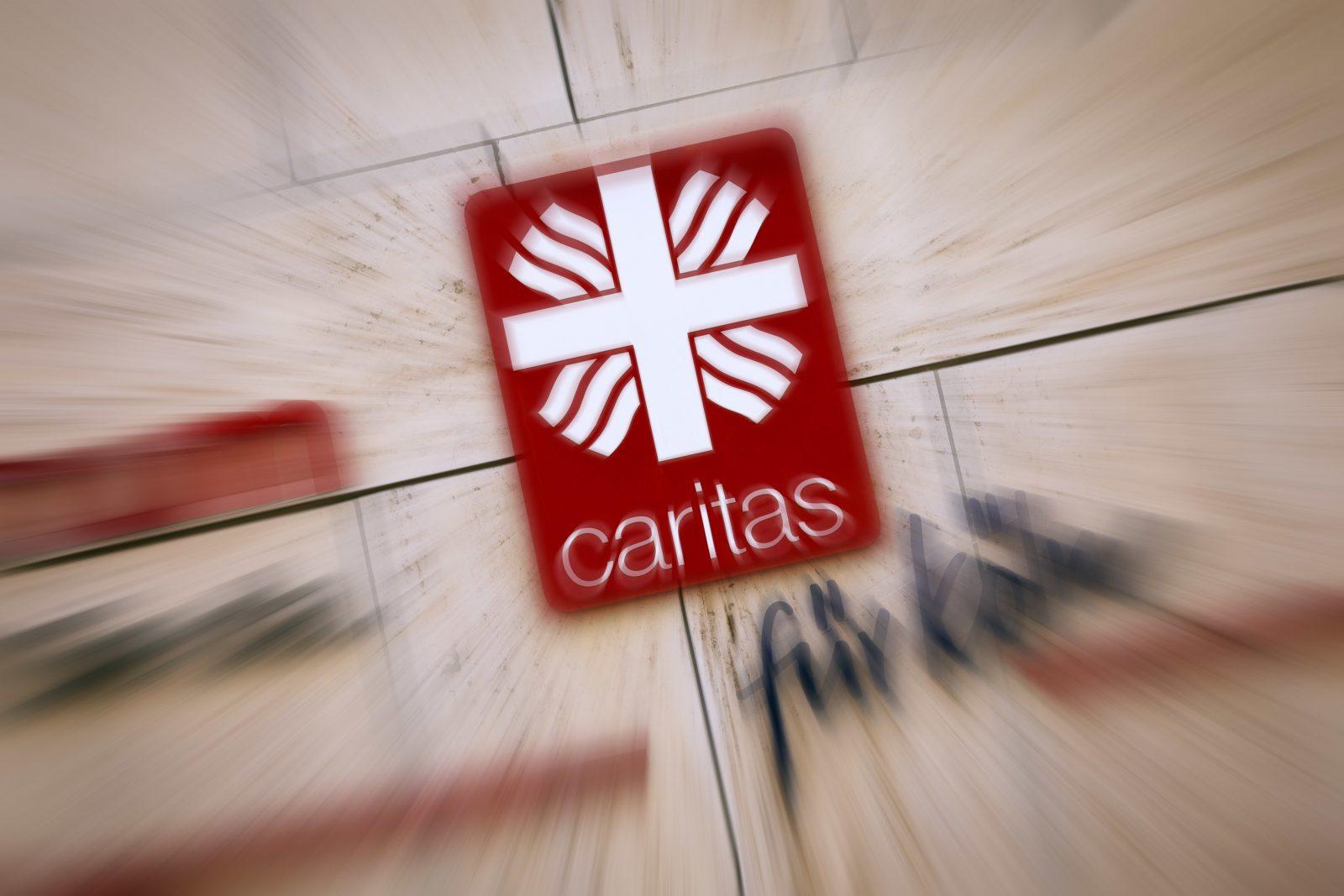 Caritas-Schild