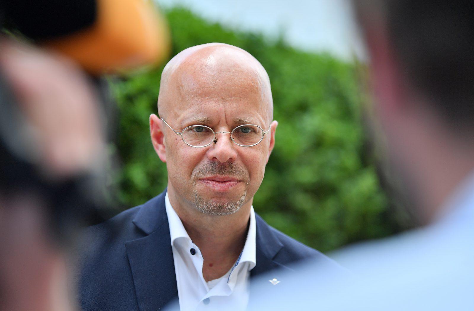 Der ehemalige brandenburger AfD-Fraktionsvorsitzende Andreas Kalbitz war laut Verfassungsschutz Mitglied der rechtsextremen HDJ Foto: picture alliance/Sebastian Gollnow/dpa