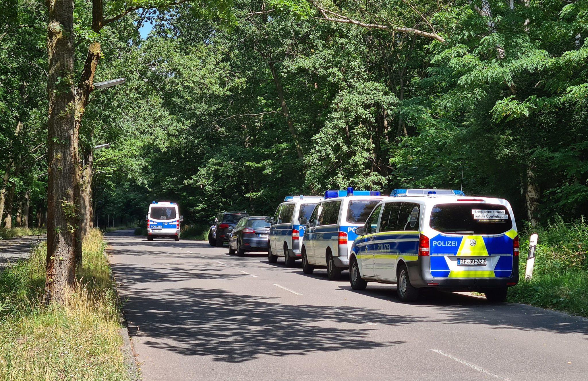 Polizei Potsdam sucht Vergewaltiger