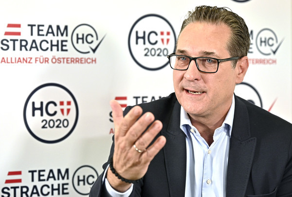 Heinz-Christian Strache, Anfang August in Wien Foto: picture alliance / HANS PUNZ / APA / picturedesk.com