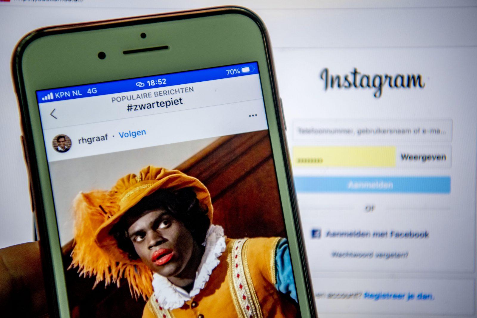 ,,Zwarte Piet'' auf Facebook