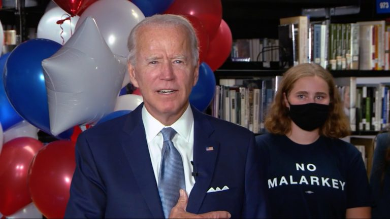 Der frühere Vize-Präsident Joe Biden ist der Präsidentschaftskandidat der US-Demokraten Foto: picture alliance/dpa/CNP