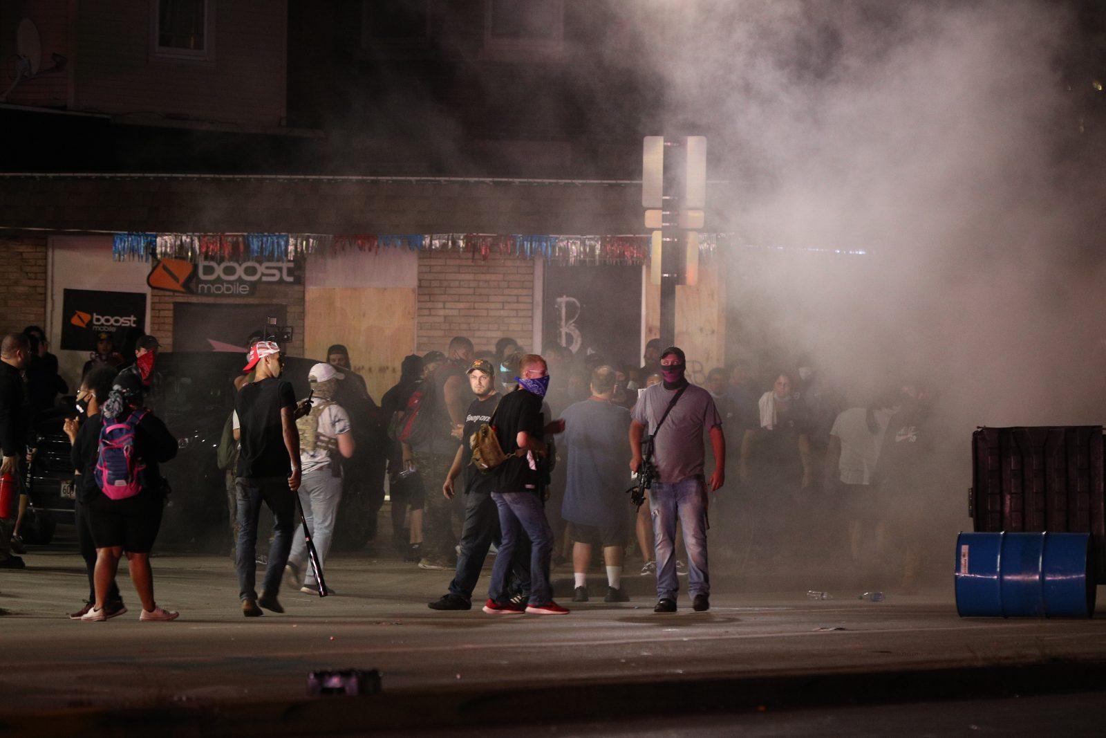 Proteste in Kenosha (Wisconsin)