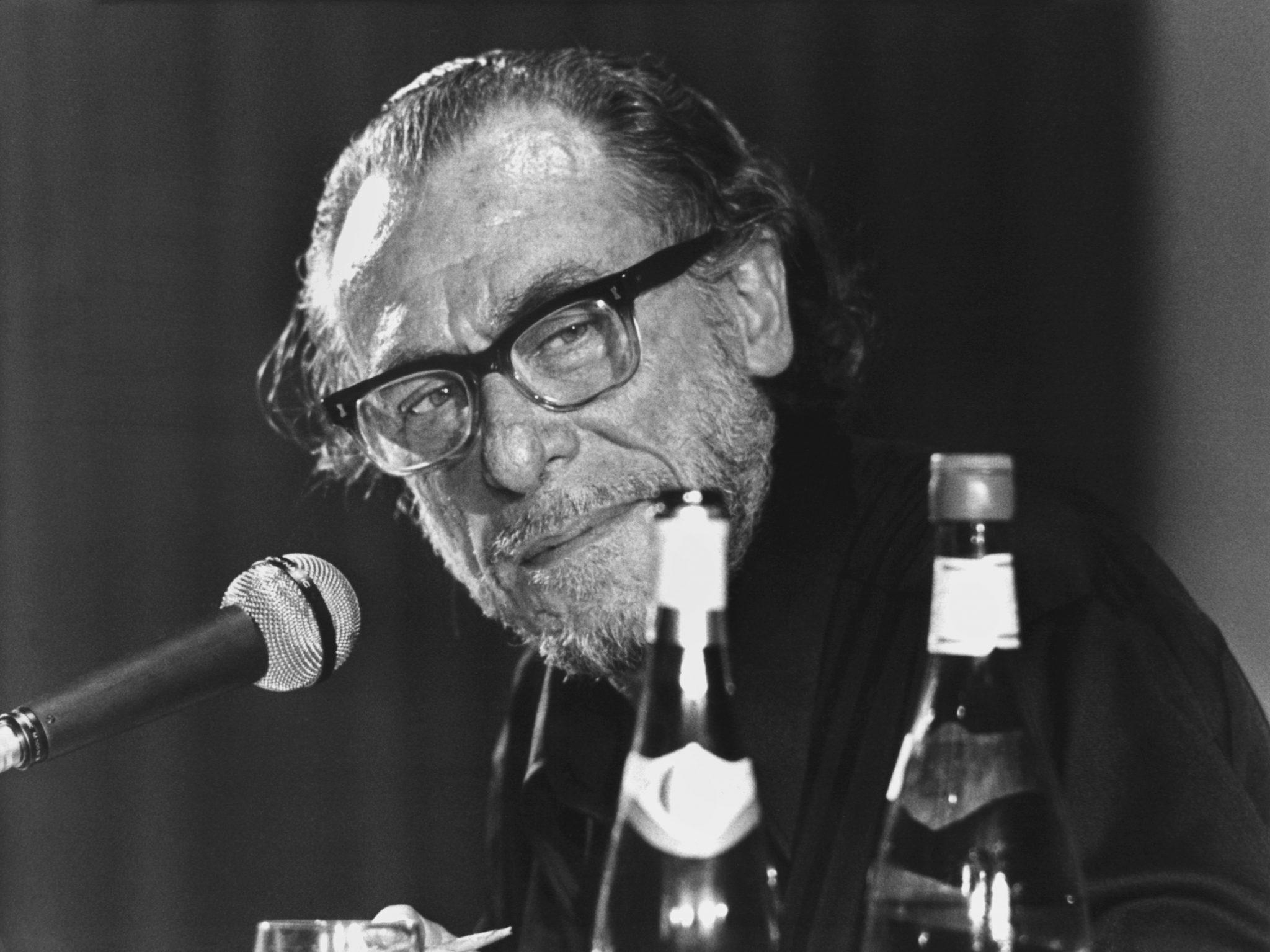Charles Bukowski im Mai 1978.