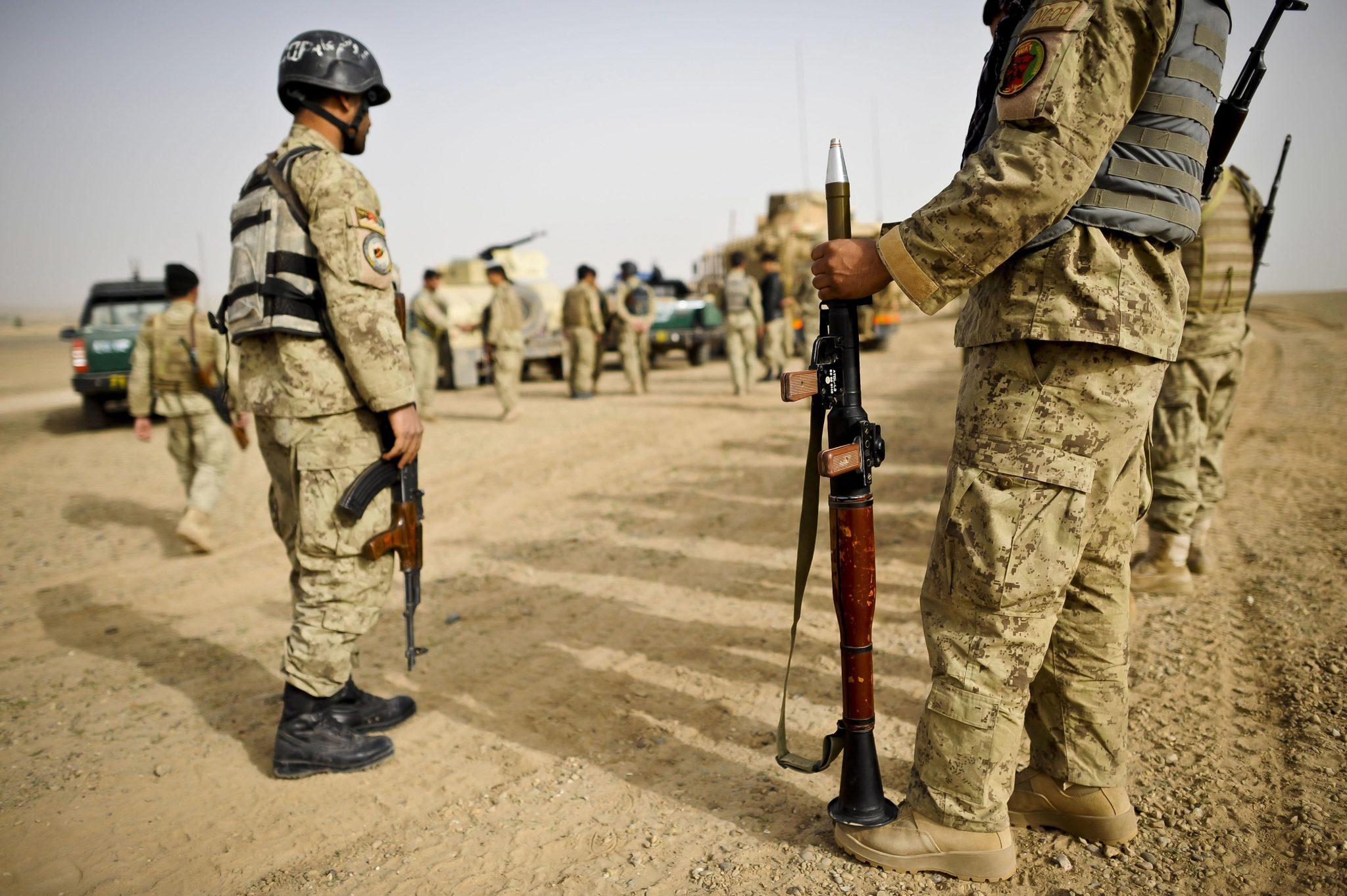 Afghanische Sicherheitskräfte: Ein Ex-KSK-Soldat prangert die Zustände bei den Verbündeten an (Archivbild) Foto: picture alliance / empics