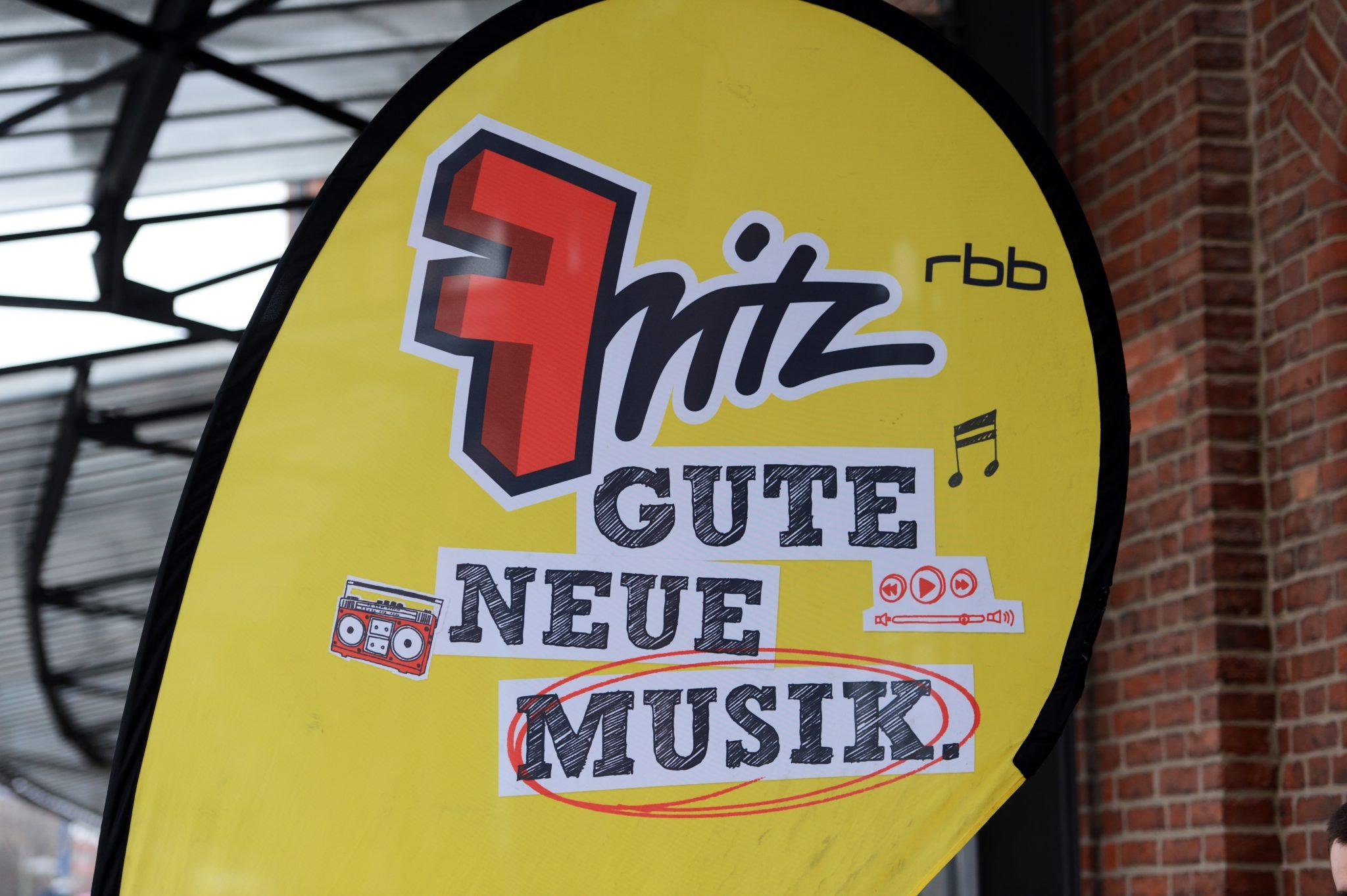 Logo des öffentlich-rechtlichen Radiosenders Fritz Foto: dpa