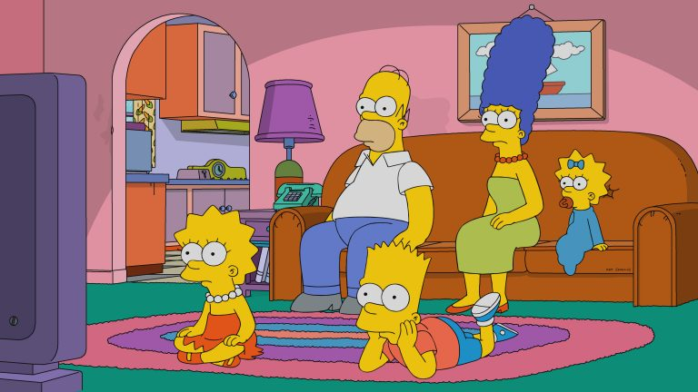 "Die Hauptfiguren der US-Zeichentrickserie ""The Simpsons"" Foto: picture alliance/Everett Collection"