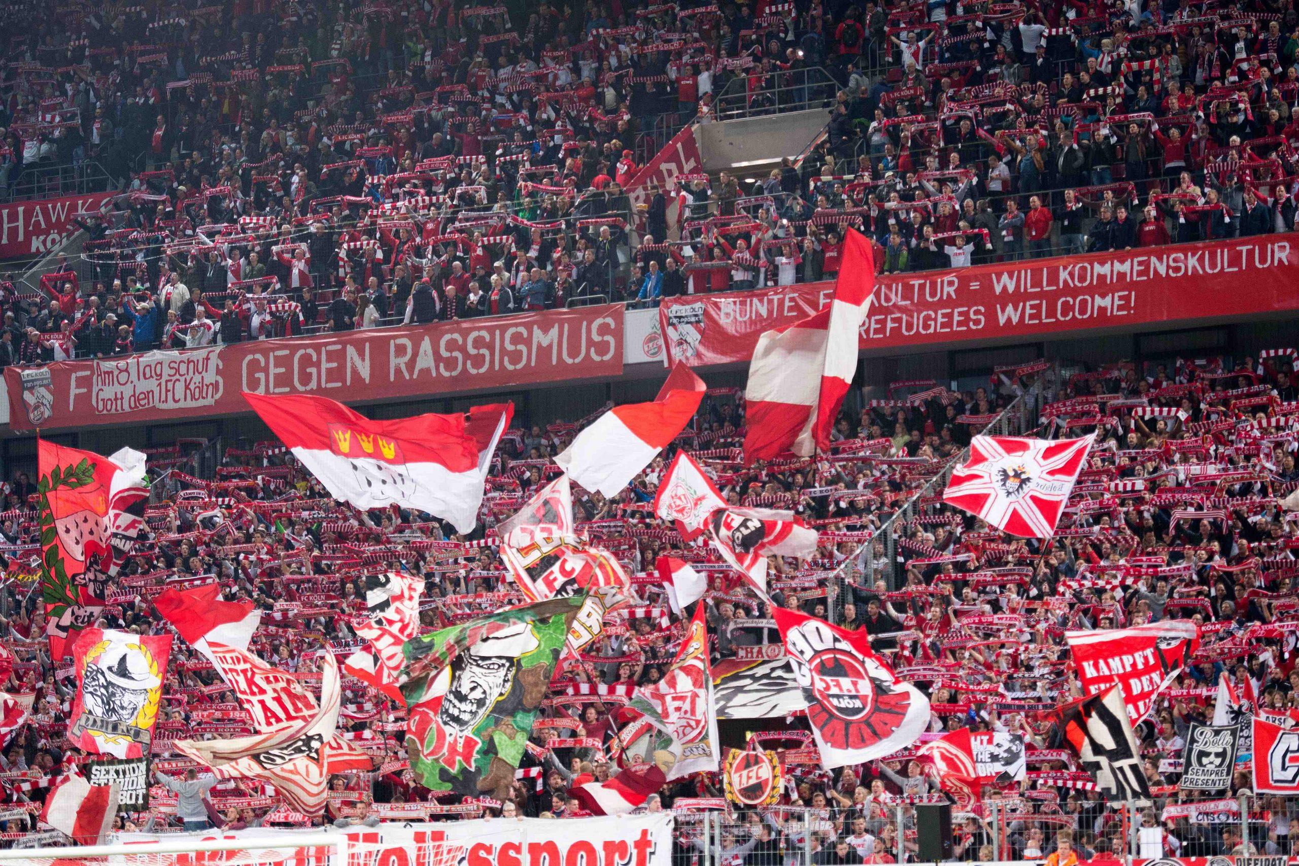 Heimspiel des 1. FC Köln gegen Ingolstadt im September 2015 Foto: dpa