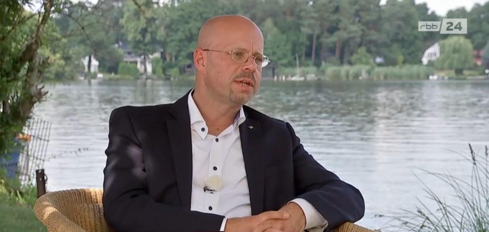 Brandenburgs Ex-AfD-Chef im RBB-Sommerinterview