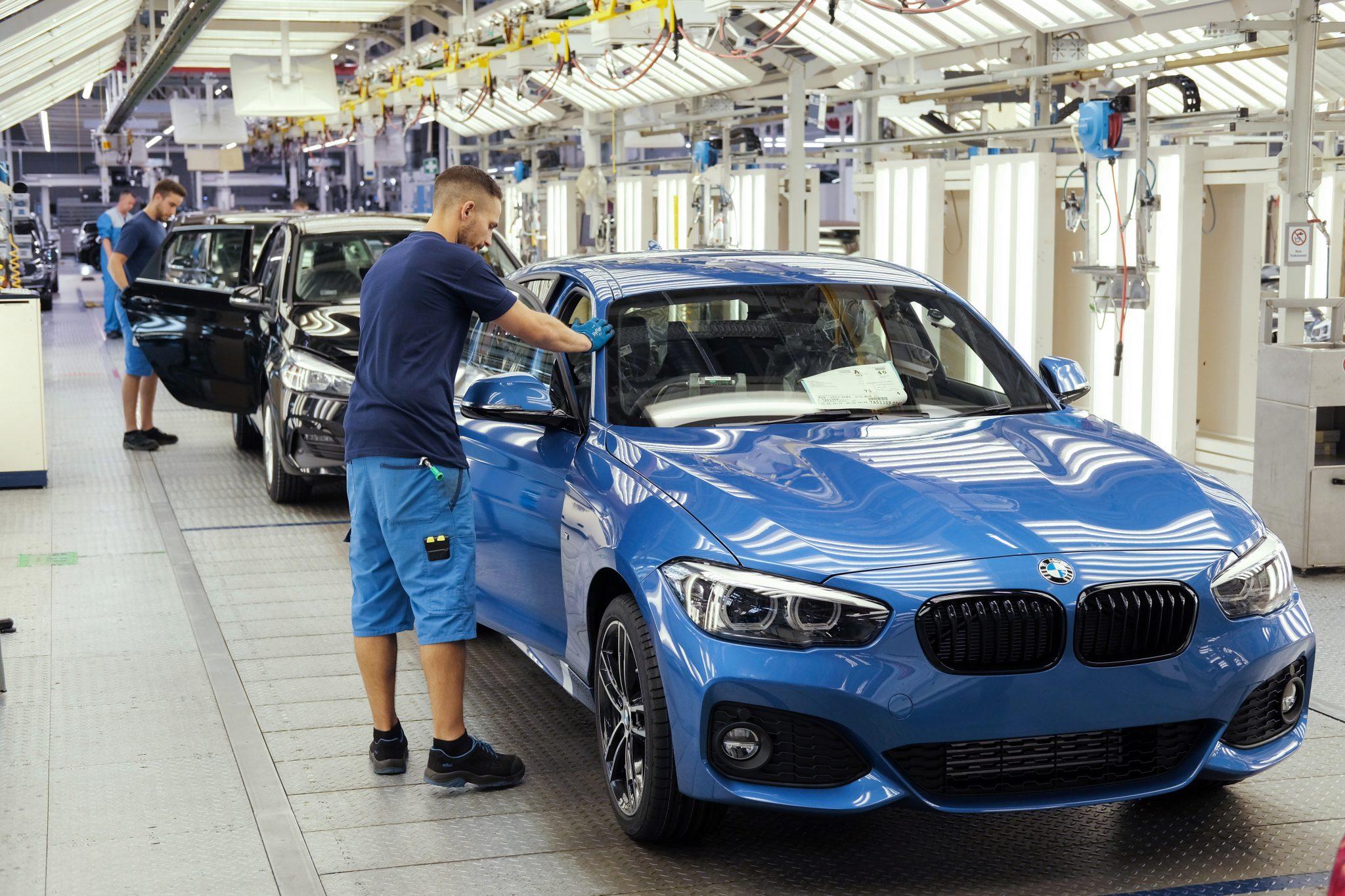 Autobranche inKrise: BMW-Werk in Leipzig