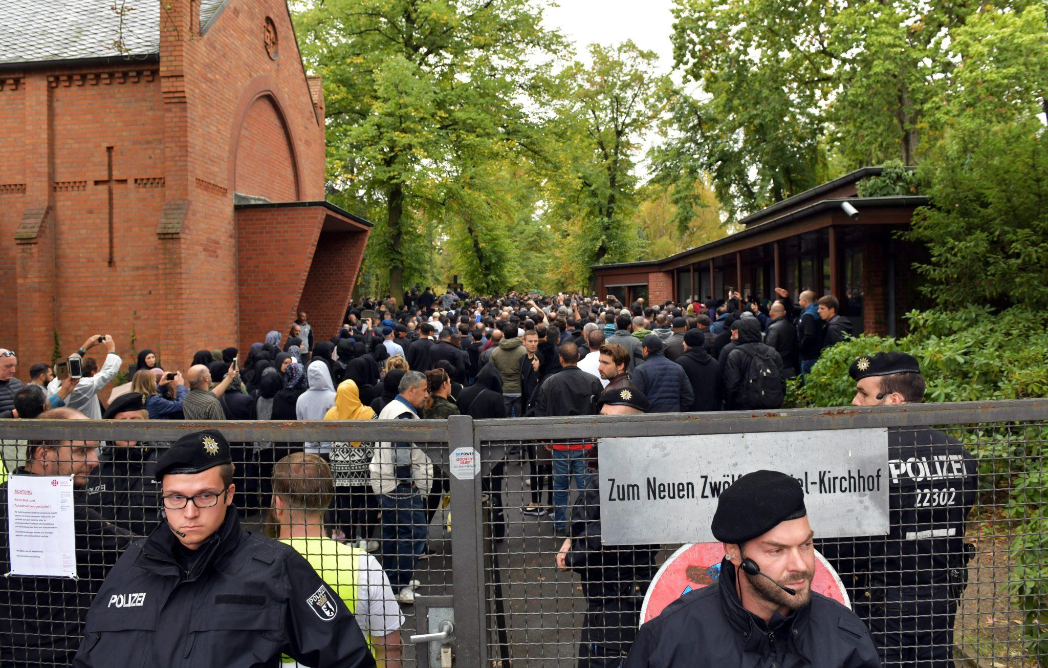 Clan-Beerdigung in Berlin