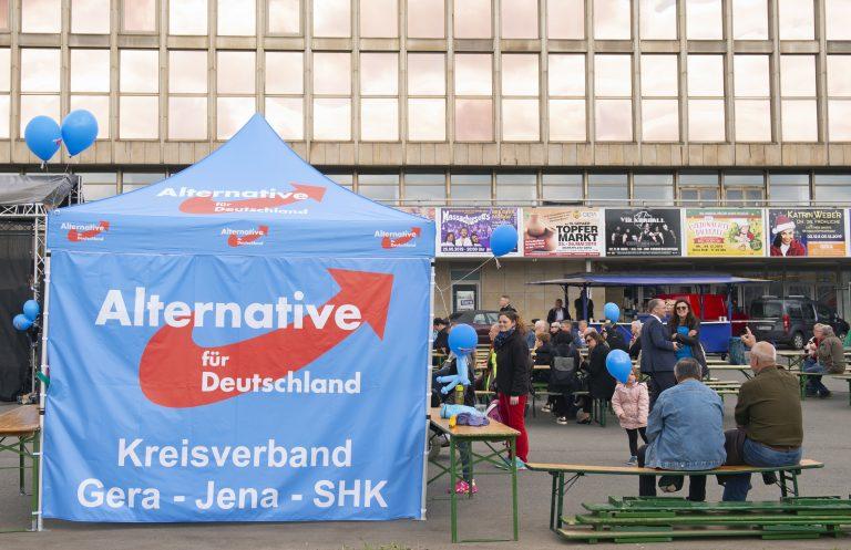 Wahlkampf der AfD in Gera: Wahl zum Stadtratsvorsitz in der Kritik