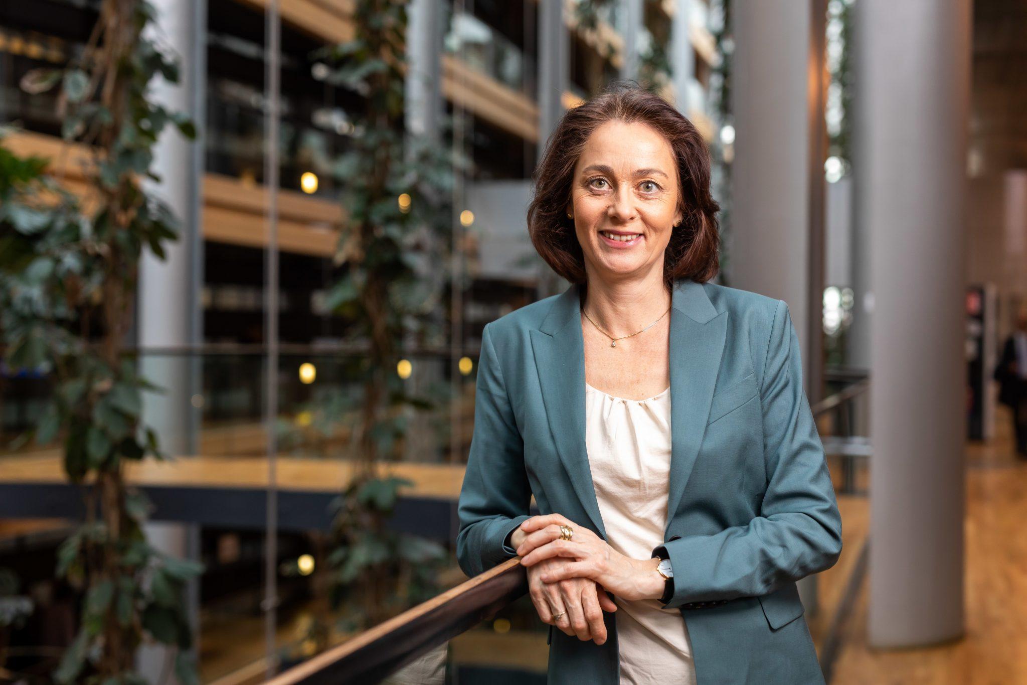 Die EU-Abgeordnete Katarina Barley (SPD) will eine härtere Gangart der EU gegen Ungarn und Polen Foto: picture alliance/Philipp von Ditfurth/dpa