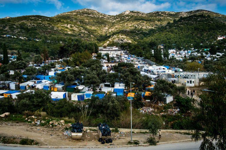 Asylcamp Vathy auf Samos