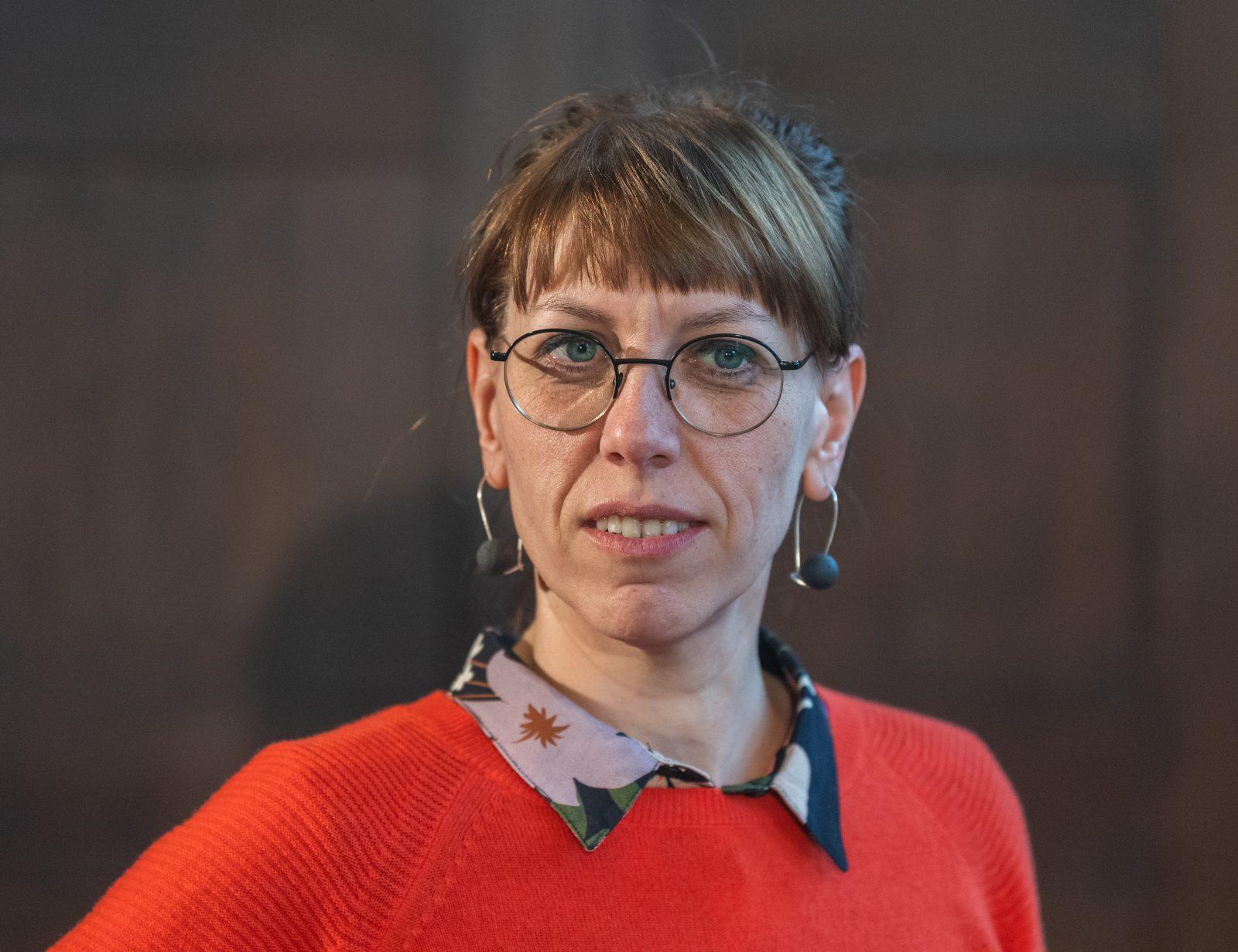 Sachsens Justizministerin Katja Meier (Grüne) gerät wegen der Personalpolitik ihres Ministeriums in die Kritik Foto: picture alliance/Robert Michael/dpa-Zentralbild/dpa