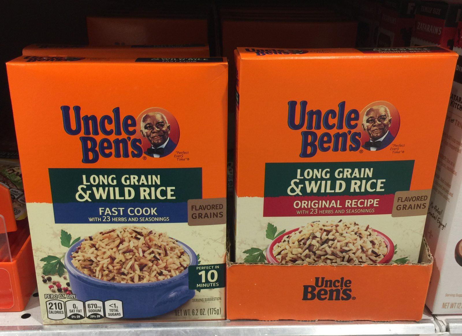 """Nach Rassismusvorwürfen wird das Logo von """"Uncle Ben`s"""" geändert Foto: picture alliance/MediaPunch"""