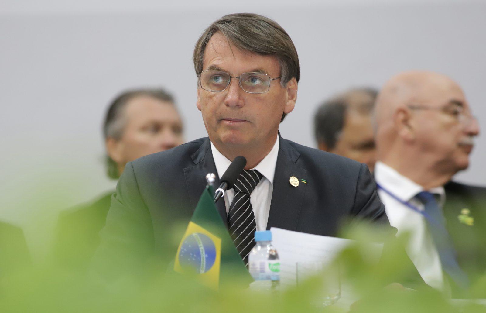Brasiliens Präsident Jair Bolsonaro Foto: picture alliance / Photoshot