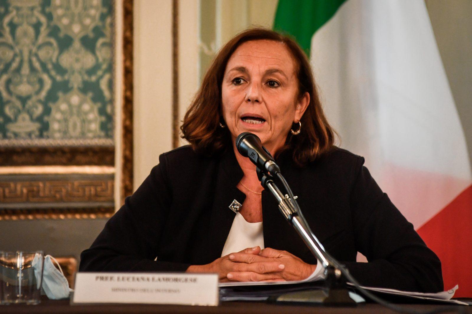 Italienische Innenministerin Luciana Lamorgese