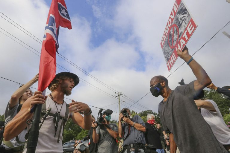 Protestgruppen in den USA