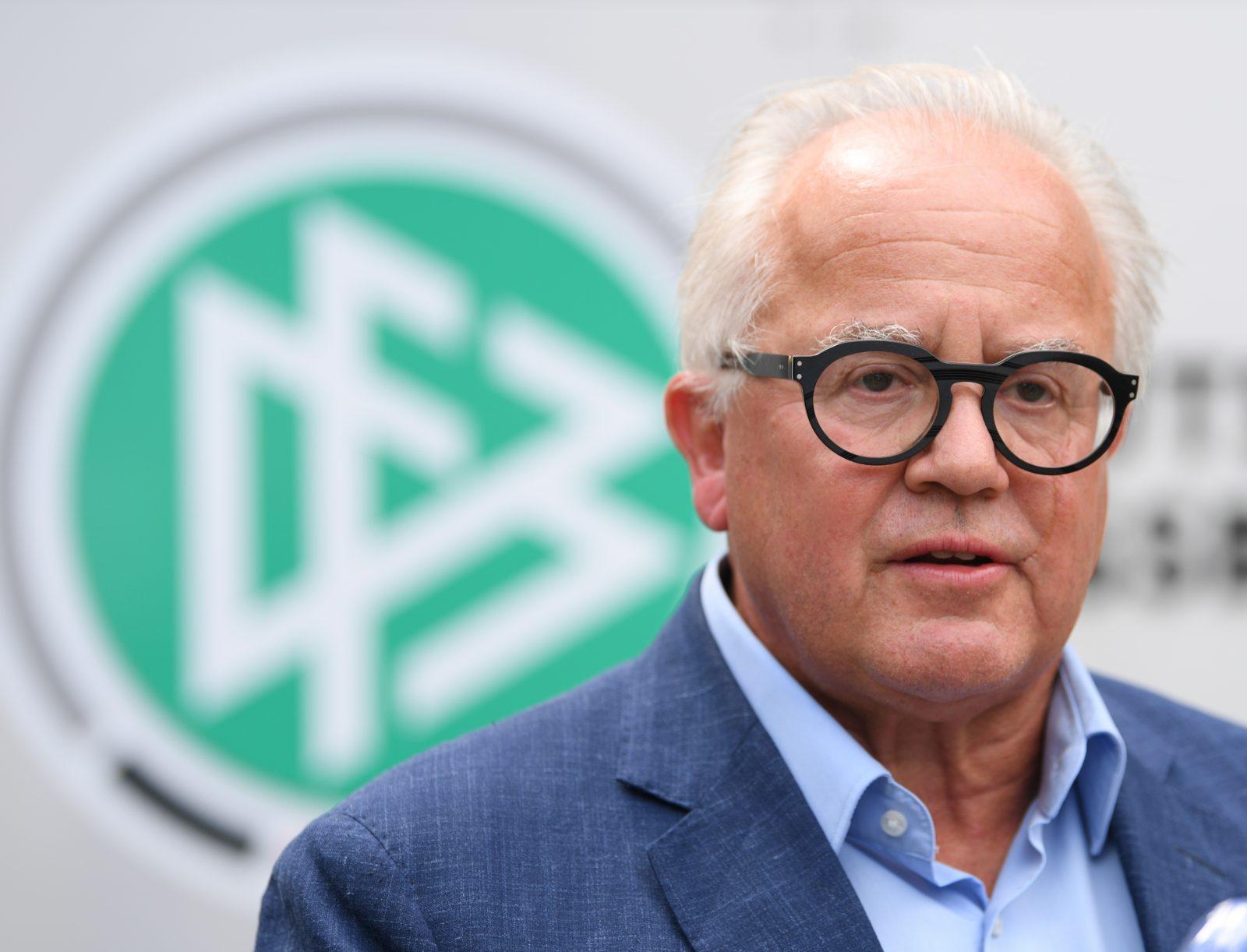 DFB-Präsident Fritz Keller warnt vor einer Politisierung des Sports Foto: picture alliance/Arne Dedert/dpa