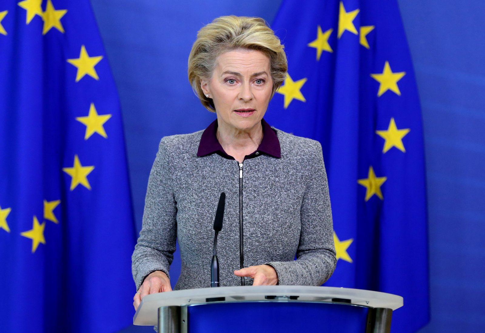 EU-Kommissionspräsidentin Ursula von der Leyen (CDU).