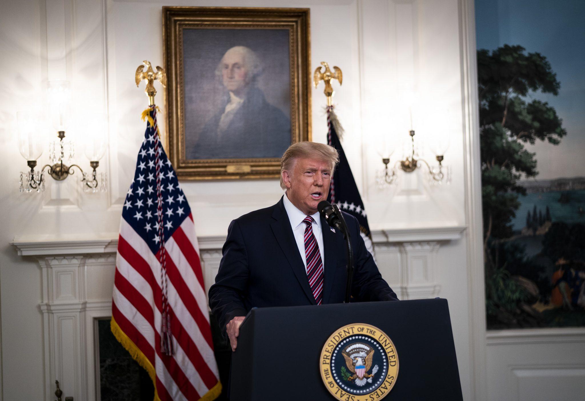 Laut Umfrageergebnis fürchten die Deutschen US-Präsident Donald Trump mehr als die Corona-Pandemie Foto: picture alliance/MediaPunch