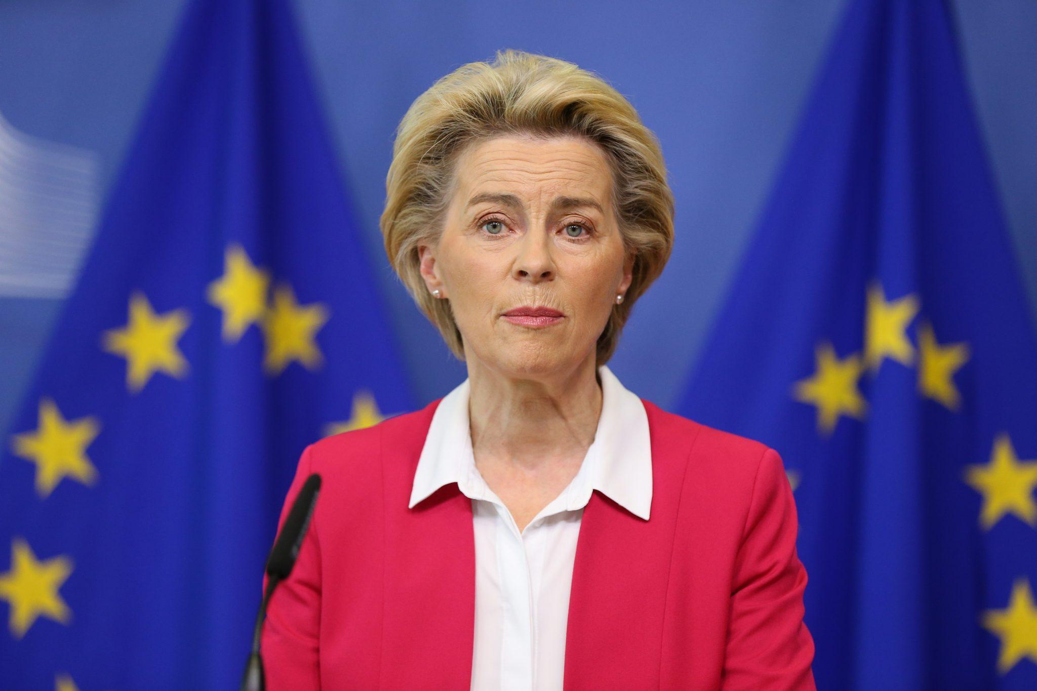 EU-Kommissionspräsidentin Ursula von der Leyen (CDU)