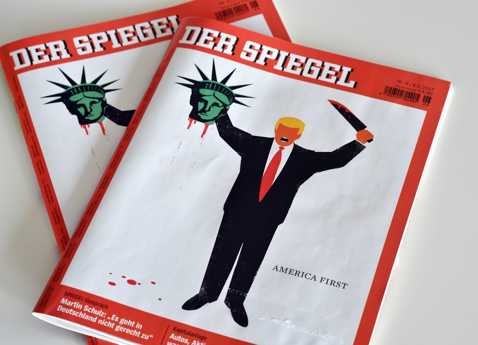 """Spiegel""-Cover gegen Trump"